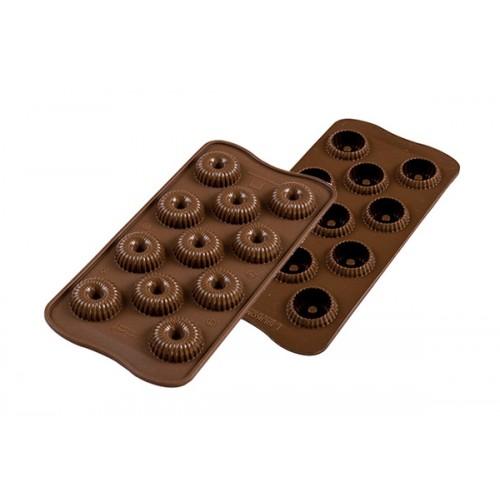 Silikomart 3D Silikonform Choco Crown