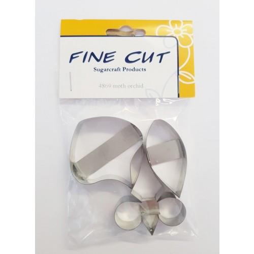 Fine Cut Aussteller Metall - Moth Orchid Set groß 3tlg.