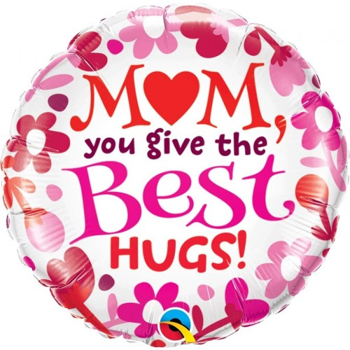 Ballon Mom Best Hug inkl. Helium
