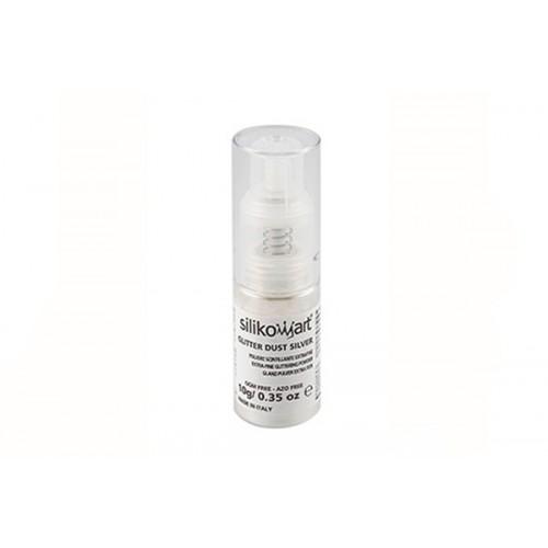 Silikomart Glitter Dust Silver 50 ml