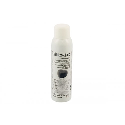 Silikomart Wonder Velvet Spray - Schwarz 150 ml