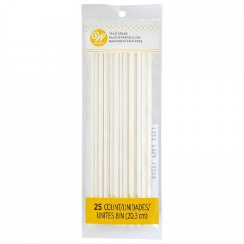 Wilton Lollipop Sticks 20cm 25 Stück