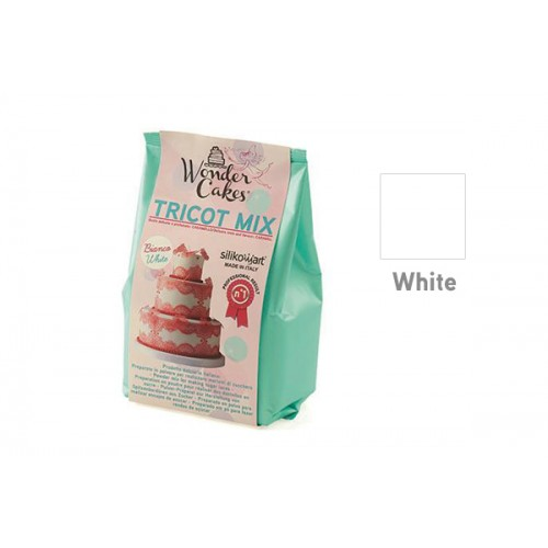 Wonder Cakes Tricot Mix - Weiß 300g