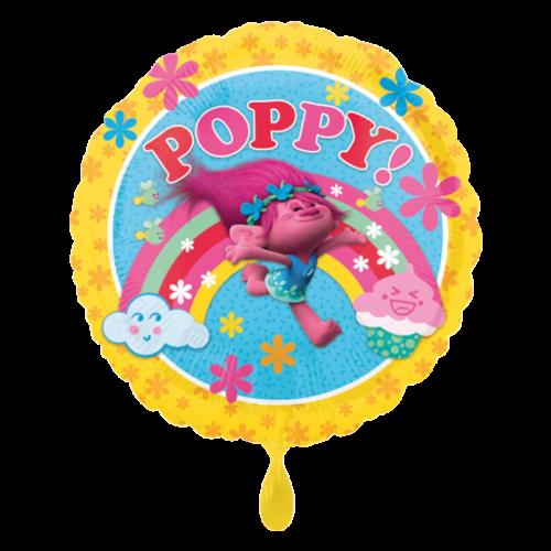 Ballon Trolls Poppy inkl. Helium