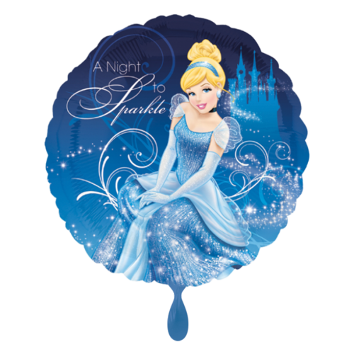 Ballon Cinderella inkl. Helium