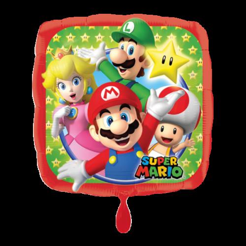Ballon Mario Bros inkl. Helium