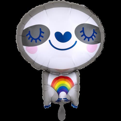 Ballon XXL Faultier inkl. Helium