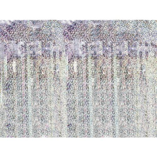 Glittervorhang - 2,5m - Holographic