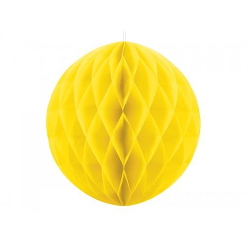 Wabenball - Ø 30cm - Gelb