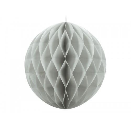 Wabenball - Ø 30cm - Grau