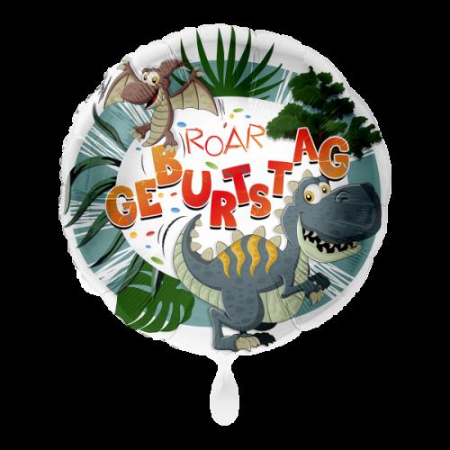 Ballon Geburtstag Dinosaurier inkl. Helium