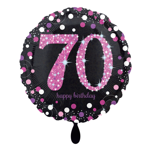 Ballon Pink Celebration 70 inkl. Helium