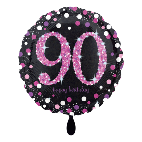 Ballon Pink Celebration 90 inkl. Helium