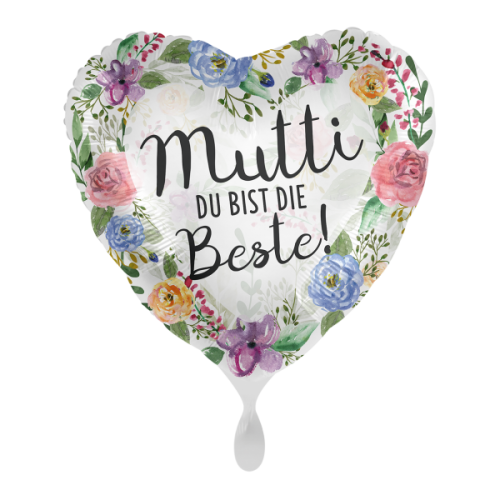 Ballon Mutti Flowers inkl. Helium