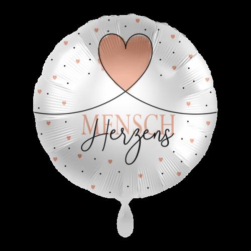 Ballon Herzensmensch inkl. Helium