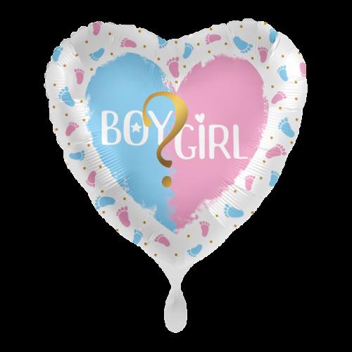 Ballon Gender Party inkl. Helium