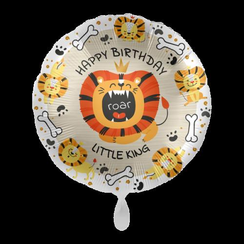 Ballon Happy Birtday Lion inkl. Helium