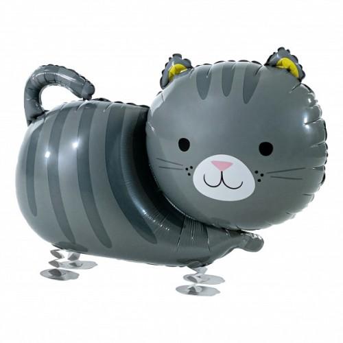 Walking Ballon Katze inkl. Helium