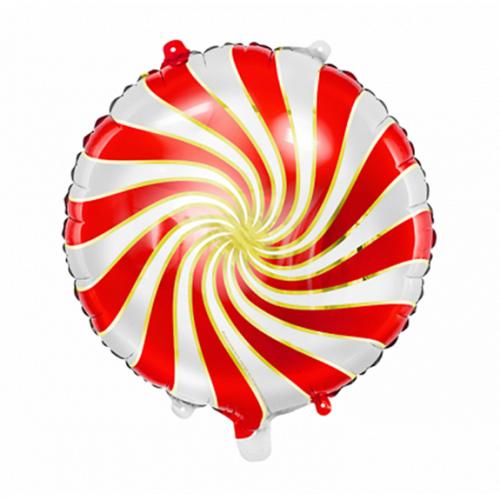 Ballon Candy rot inkl. Helium