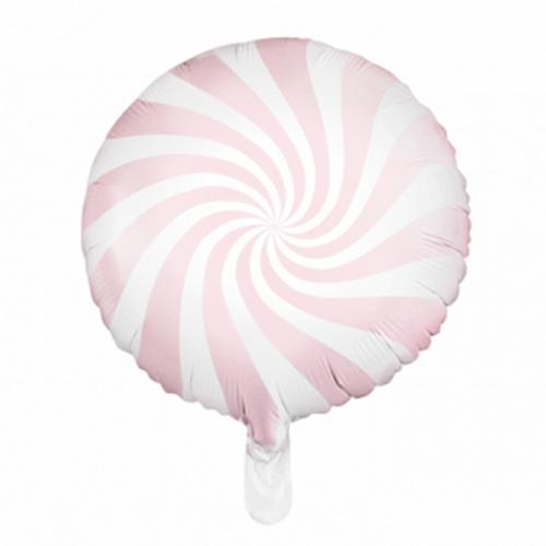 Ballon Candy rosa inkl. Helium