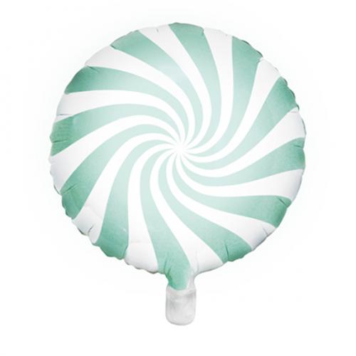 Ballon Candy mint inkl. Helium