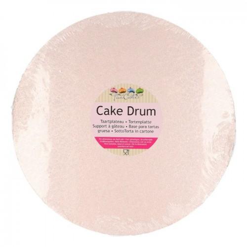 FunCakes Cake Drum Round Rose Gold Ø30cm