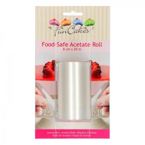 FunCakes Acetat-Rolle - 8cm