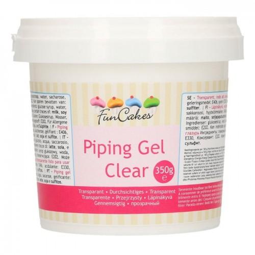FunCakes ClearPiping Gel 350g