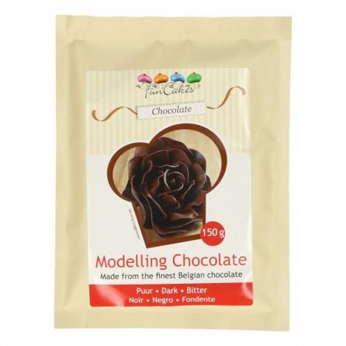 FunCakes Modelling Schokolade Dark -150g