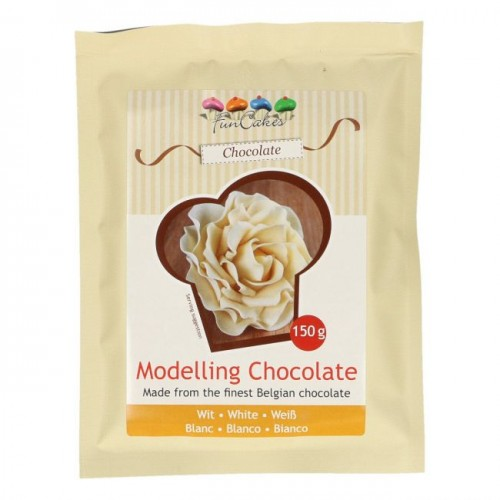 FunCakes Modelling Schokolade Weiß -150g