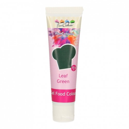 FunCakes Edible FunColours Gel - Leaf Green 30g