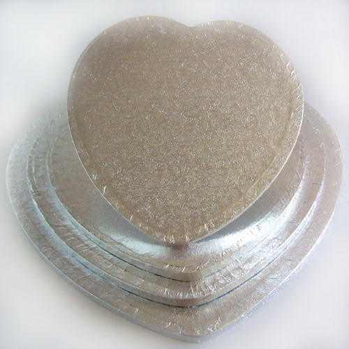 FunCakes Cake Drum Heart 32,5cm