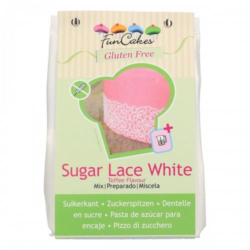 FunCakes Mix für Sugar Lace GLUTENFREI White 400g