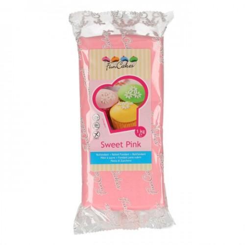FunCakes Rollfondant - Sweet Pink 1kg