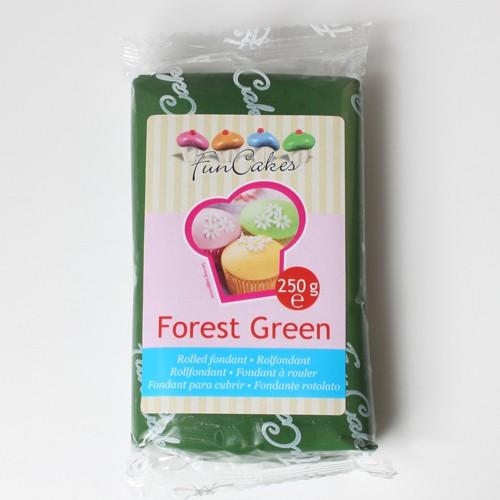 FunCakes Rollfondant - Forest Green 250g