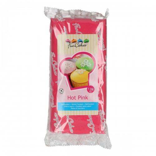 FunCakes Rollfondant - Hot Pink 1kg