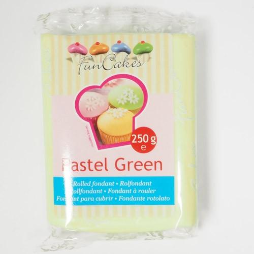 FunCakes Rollfondant - Pastel Green 250g