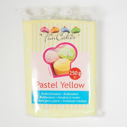 FunCakes Rollfondant - Pastel Yellow 250g