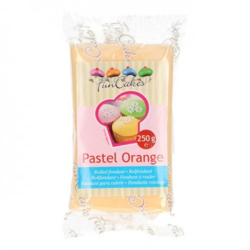 FunCakes Rollfondant - Pastel Orange 250g