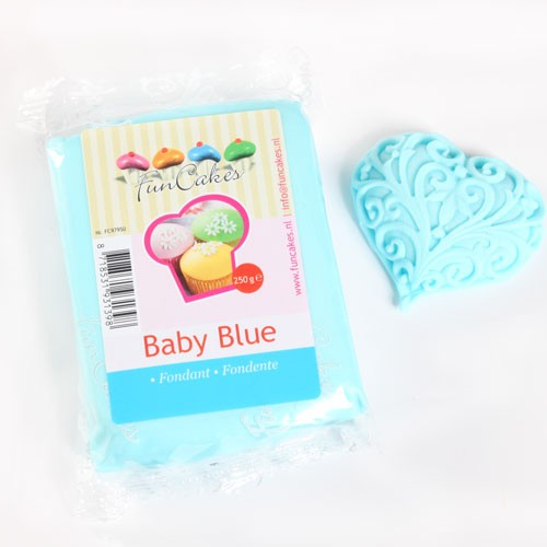 FunCakes Rollfondant - Baby Blue 250g