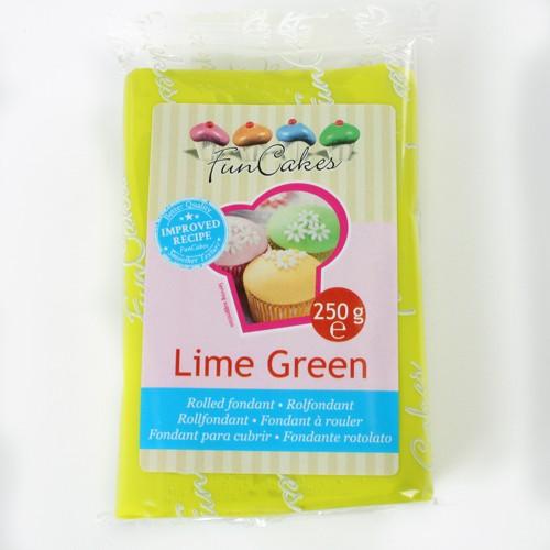 FunCakes Rollfondant - Lime Green 250g