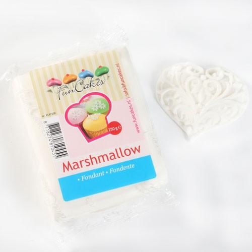 FunCakes Rollfondant - Marshmallow-Weiß 250g