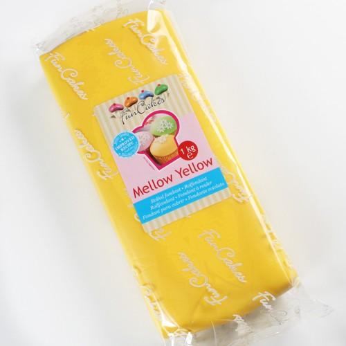 FunCakes Rollfondant - Mellow Yellow 1kg