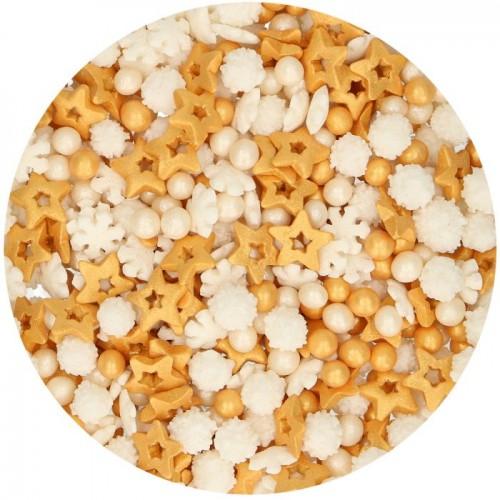 FunCakes Sprinkle Medley -Gold - 50g