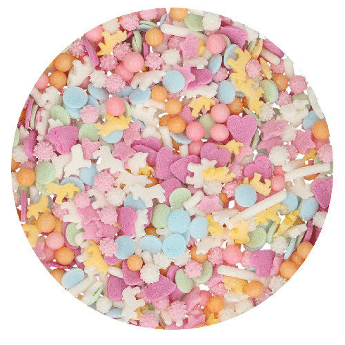 FunCakes Sprinkle Medley Einhorn pastel 50g