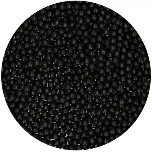 FunCakes Sugar Pearl Shiny Black 80g
