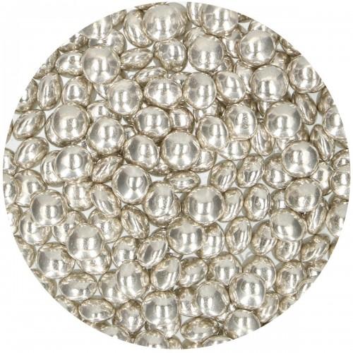 FunCakes Schokodragees Metallic Silber 80g