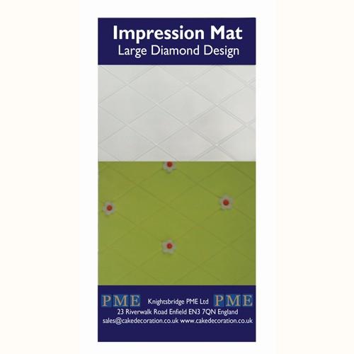 PME Prägematte Diamond -Large
