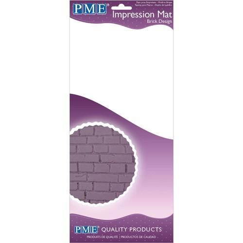 PME Prägematte Brick