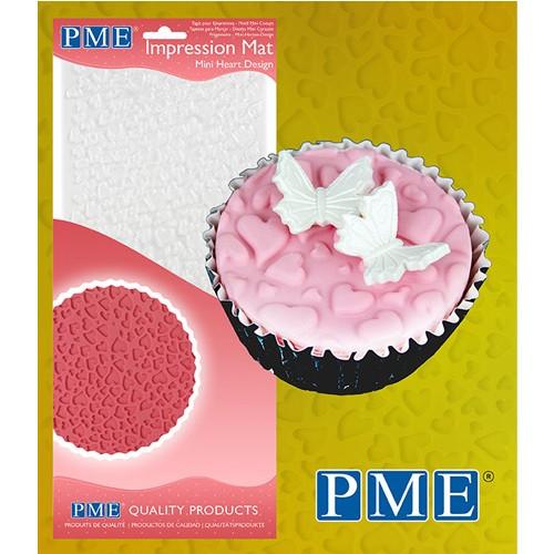 PME Prägematte Mini Heart